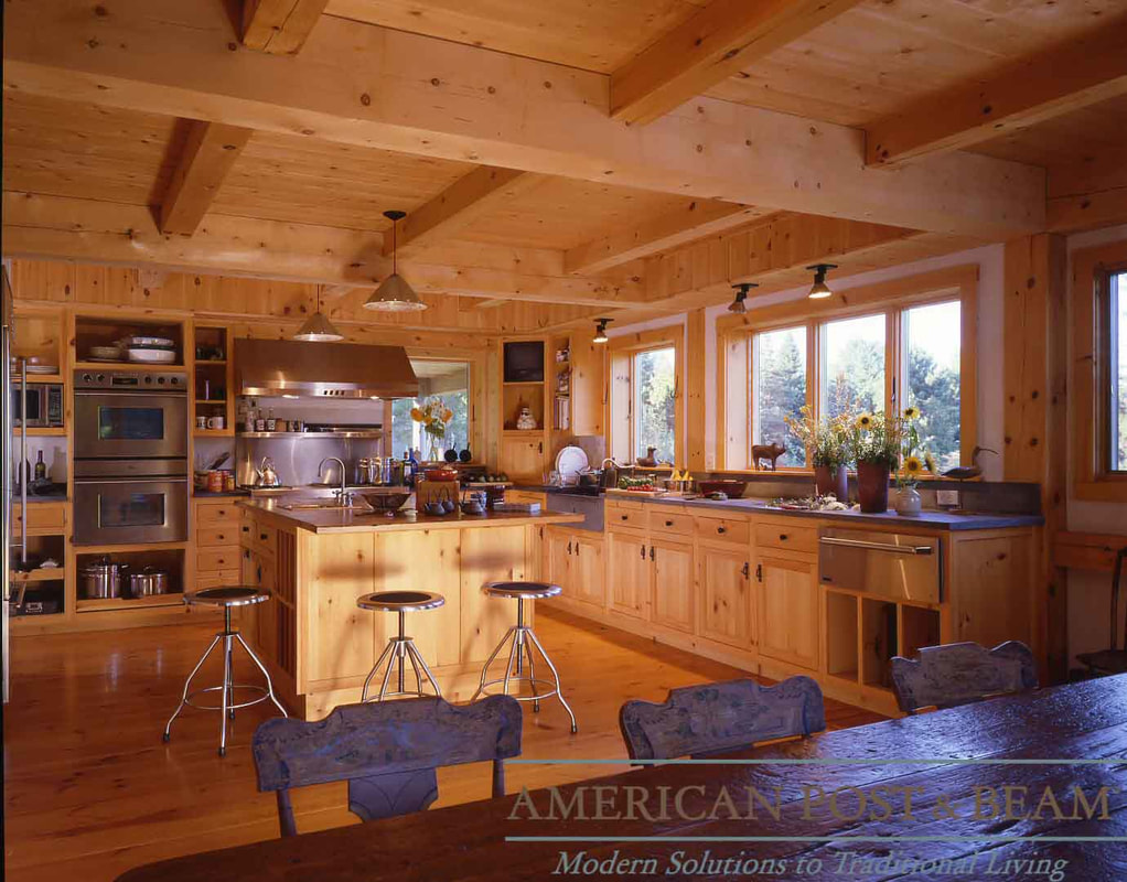 Litchfield Ct Barn Style Home American Post Beam Homes Modern Solutions To Traditional Living