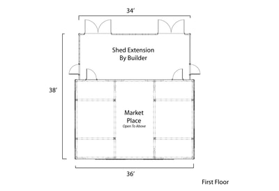 Coventry Barn floor plan