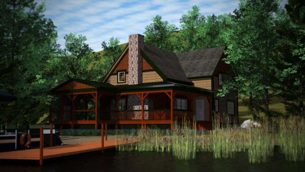 Linville Lakehouse (T00415L) 1,700 sq. ft.