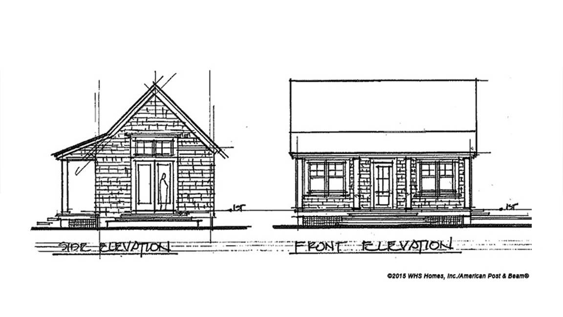 Hideaway Cottage (W00015) - 504 sq. ft.