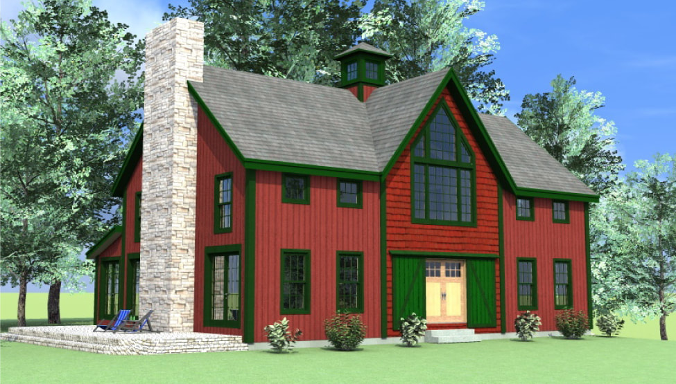 Haley Barn Style Home (Y00027) - 2,848 sq. ft.
