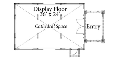 barn floor plan