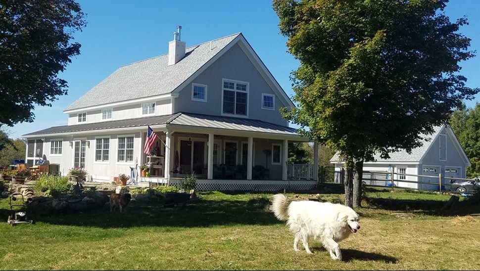 Hilltop Farmhouse (A00086) 2,872 sq. ft. - Strafford, VT