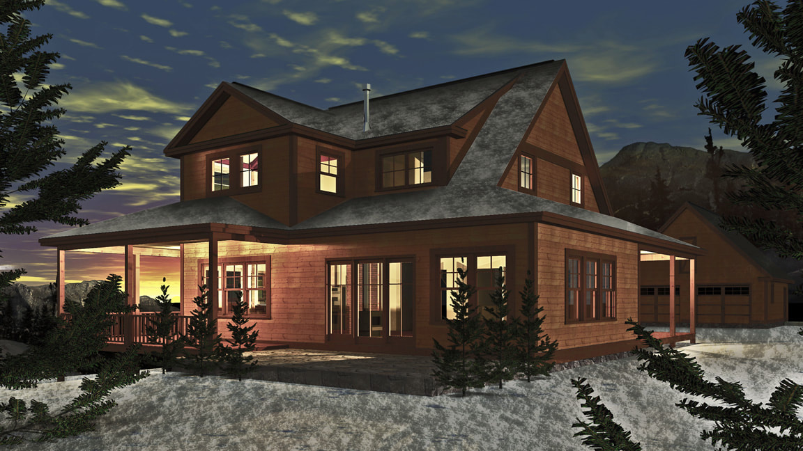 Strafford Farmhouse (Y00086) - 2,580 sq. ft.
