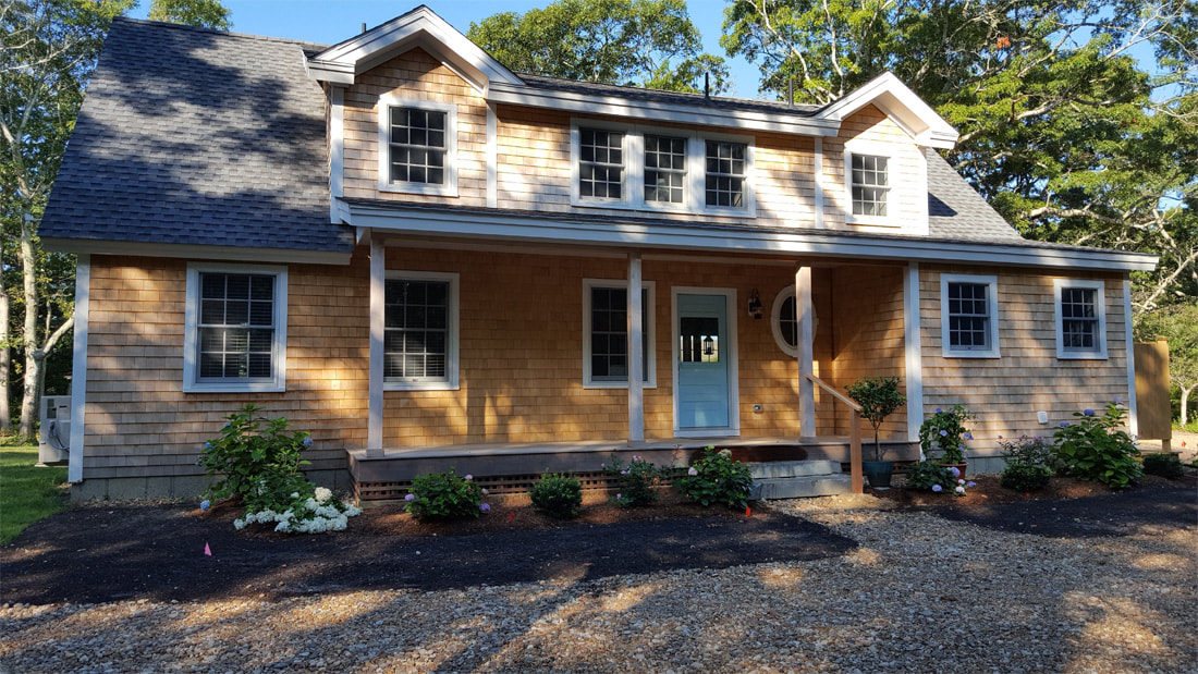 Contemporary Cottage (A00130) 2,344 sq. ft. - West Tisbury, MA